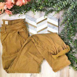 Hei Hei Anthropologie Skinny Pants Golden Tan